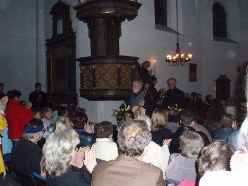 Slavnosti Elišky Přemyslovny 2006, Koncert pro královnu Štěpána Raka, kostelík sv. Havla na kopci Havlíně.