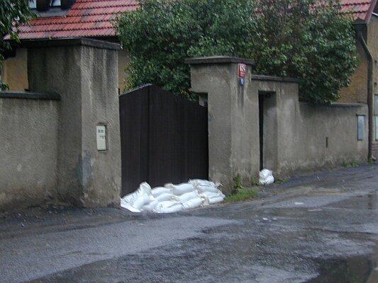 Povodně 2002, Praha 5 - Zbraslav
