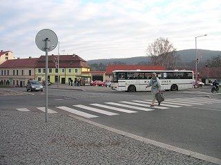 Autobusová doprava na Zbraslavi. Ilustrační obrázek