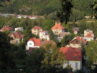 Pohled na Zbraslav - obrázek ze stránek www.zbraslav.info